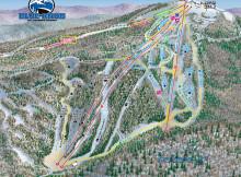 Blue Knob Ski Trail Map.