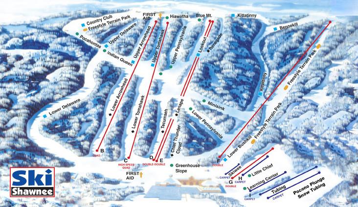 Shawnee Mountain Ski Area | Ski Resorts in PA on spring mountain ski resort trail map, old forge ny snowmobile trail map, ny hiking trails map, new york ave dc, beech mountain ski resort map, new york state ski areas, poconos ski resort map, lake placid ski resort map, new england ski areas map, sunrise ski resort map, new england ski resorts map, park city trail map, new york state skiing, bretton woods ski resort map, mammoth ski resort map, new york resorts and lodges, india ski resorts map, lookout ski resort idaho map, blue knob ski resort trail map, new jersey ski resorts map,