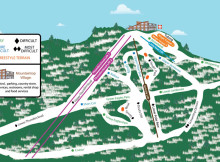 Ski Big Bear Trail Map.