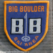 A vintage patch from Big Boulder Ski Area.